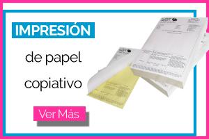 impresión de papel copiativo
