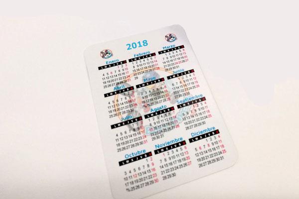 calendarios de bolsillo personalizados