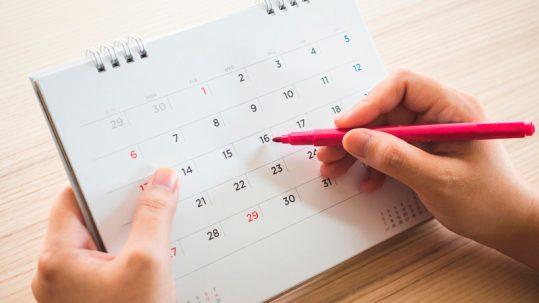 calendarios para empresas
